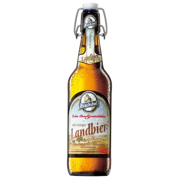 Пиво Monchshof Landbier 5,4% 0,5л