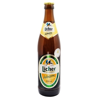 Пиво Licher Weizen светлое 5.4% 0,5л