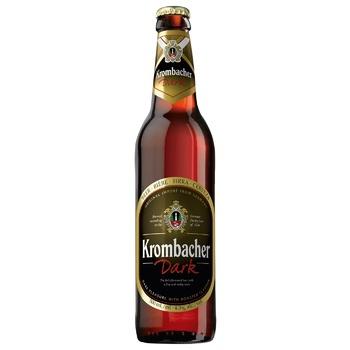 Пиво Krombacher Dark 4,3% 500мл