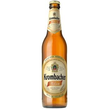 Krombacher Weizen Light Beer 5.3% 0.5l