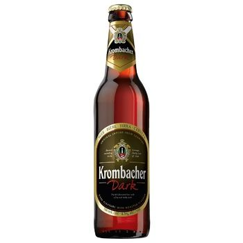 Krombacher Dark Beer 4,3% 500ml - buy, prices for Auchan - photo 2