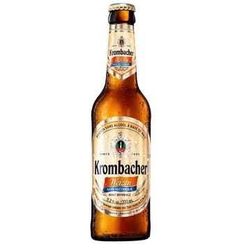 Пиво Krombacher Weizen безалкогольное ж/б 0,5л