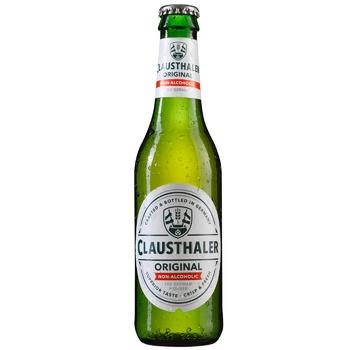 Пиво Clausthaler Classic светлое безалкогольное 0,45% 0,33л