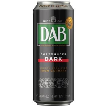Пиво DAB Dark темне 4,9% 0,5л