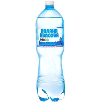 Вода минеральная Поляна Квасова 8 газированная лечебно-столовая 1,5л - купить, цены на Фуршет - фото 2