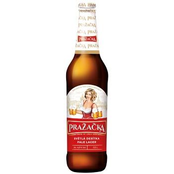 Пиво Prazecka светлое 4% 0,5л