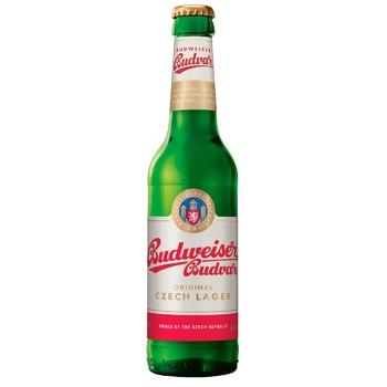 Пиво Budweiser Budvar светлое 5% 0,33л
