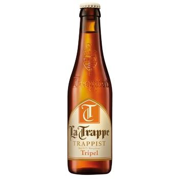 Пиво La Trappe Trappist Blond світле 6,5% 0,33л - купити, ціни на Ашан - фото 1