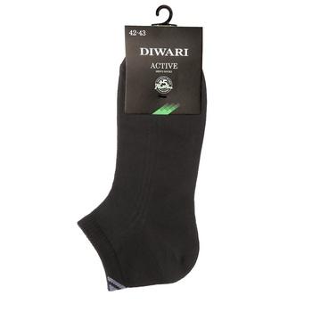 Носки мужские Diwari Active короткие р.25 018 черный 7С-37СП