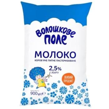 Молоко Волошкове Поле пастеризованное 2.5% 900г - купить, цены на Фуршет - фото 2