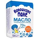 Voloshkove Pole Selianske Sweet Cream Butter 73% 100g