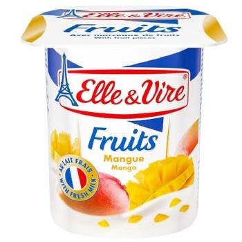 Десерт молочный Elle&Vire манго 1,5% 125г - купить, цены на ЕКО Маркет - фото 1