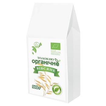 Толокно Козуб продукт вівсяне органічне 500г - купити, ціни на CітіМаркет - фото 1