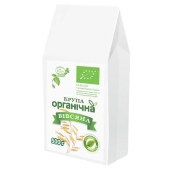 Крупа вівсяна Козуб органічна 500г - купити, ціни на Ашан - фото 1