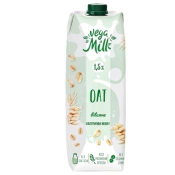 Напиток овсяный Vega Milk 1,5% 950мл - купить, цены на СитиМаркет - фото 1