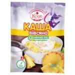 Kozub Oatmeal with Pineapple 40g