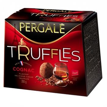 Цукерки Pergale Truffles Cognac 200г - купити, ціни на ЕКО Маркет - фото 1