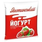 Йогурт Яготинский 1,5% клубника 400г
