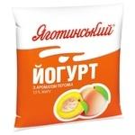 Yagotynske With Peach Yogurt 1.5 % 400g
