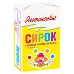 Творожок Яготинский сладкий с ароматом ванили 17% 90г