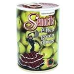 Senorita Pitted Green Olives 280g