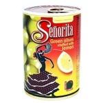 Оливки Senorita Испанские с лимоном 280г