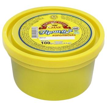 Korolivsky Smak Mustard 100g - buy, prices for EKO Market - photo 1