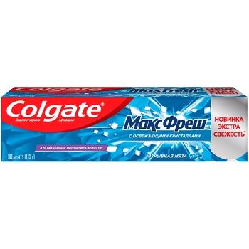 Зубная паста Colgate Макс Фреш Взрывная мята 100мл