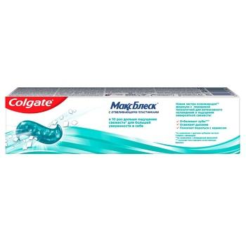 Зубна паста Colgate Макс Блиск відбілююча 50мл - купити, ціни на ЕКО Маркет - фото 3