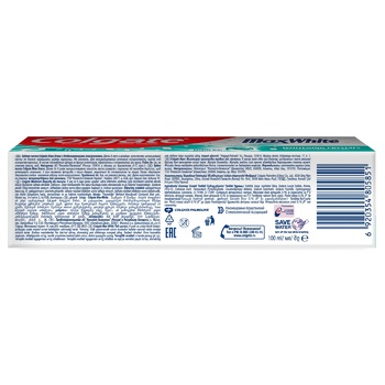 Colgate MaxBlisk Whitening Toothpaste 100ml - buy, prices for Auchan - photo 4