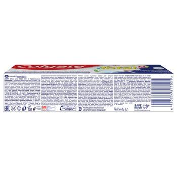 Зубная паста Colgate Total 12 Профессиональная Отбеливающая комплексная антибактериальная 75мл - купить, цены на Фуршет - фото 4