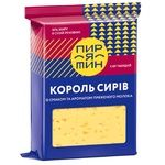 Piryatin King Of Cheeses With Melted Milk Aroma And Taste Hard Cheese 50% 160g
