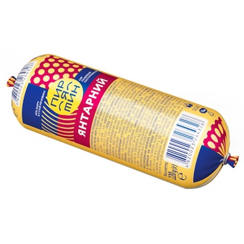 Pyriatyn Yantarnyi Processed Pasty Cheese 60% 220g - buy, prices for CityMarket - photo 1