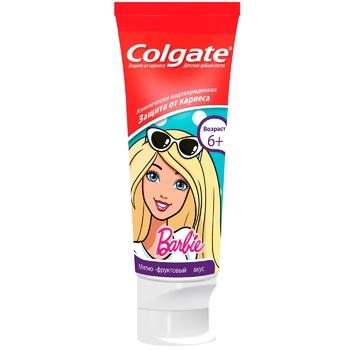 Зубная паста Colgate Barbie/Batman детская 6+ 75мл