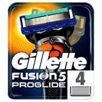 Картриджи для бритья Gillette Fusion ProGlide сменные 4шт