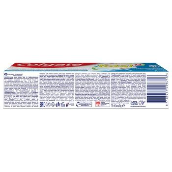 Зубная паста Colgate Total 12 Профессиональная Видимый Эффект комплексная антибактериальная 75мл - купить, цены на Фуршет - фото 4