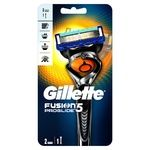 Gillette Fusion5 ProGlide Flexball Razor with 2 Replaceable Cartridges