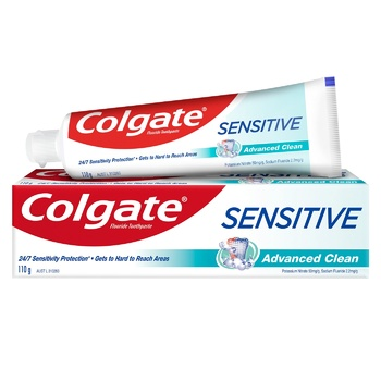Зубная паста Colgate Sensitive Совершенствующая чистка 110г - купить, цены на Метро - фото 1