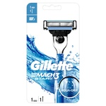 Gillette Mach3 Start Razor with Replaceable Cartridges