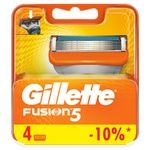 Gillette Fusion Replacement Shaving Cartridges 4pcs