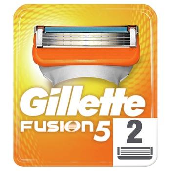 Картриджі для гоління Gillette Fusion змінні 2шт - купити, ціни на ЕКО Маркет - фото 5