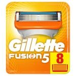 Картриджи для гоління Gillette Fusion5 змінні 8шт