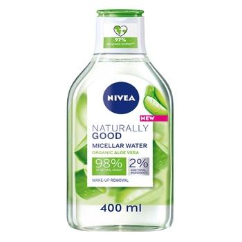 Міцелярна вода Naturally Good Nivea 400мл - купити, ціни на Ашан - фото 1