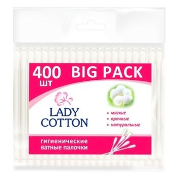 Палочки Lady Cotton ватные 400шт