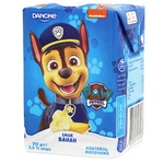 Danone Paw Patrol Banana Flavored Milk Cocktail 2,5% 212g