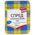 Pershyi Riad Sweet Cream Spread 72% 190g