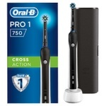 Зубная щетка Oral-B Pro 750 электрическая чёрная + футляр