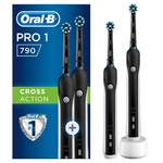 Набор электрических зубных щеток Oral-B Braun Pro 1/790 x2