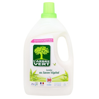 L`arbre Vert for washing vegetable liquid soap 2l - buy, prices for Auchan - photo 1