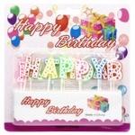 Zed Letters Cake Candles 12pcs